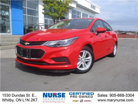 2018 Chevrolet Cruze LT Auto (Stk: 10X590) in Whitby - Image 1 of 24