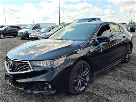 2018 Acura TLX Tech A-Spec (Stk: 19UUB1) in Kitchener - Image 1 of 2