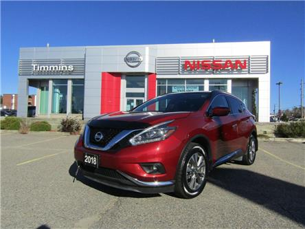 2018 Nissan Murano SV (Stk: L243A) in Timmins - Image 1 of 16