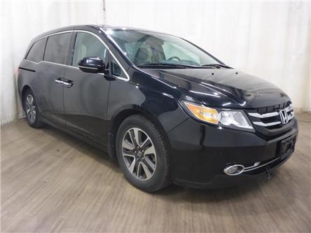 2014 Honda Odyssey Touring (Stk: 21101843) in Calgary - Image 1 of 29