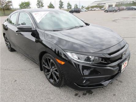 2019 Honda Civic Sport (Stk: K17171A) in Ottawa - Image 1 of 18