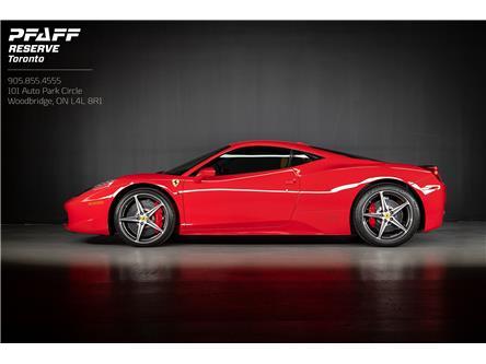 2013 Ferrari 458 Italia Base (Stk: ) in Woodbridge - Image 1 of 18