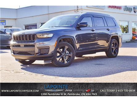 2021 Jeep Grand Cherokee L Laredo (Stk: 21207A) in Pembroke - Image 1 of 30