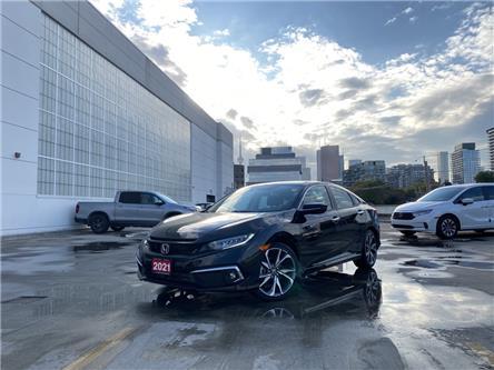 2021 Honda Civic Touring (Stk: HP4545) in Toronto - Image 1 of 28