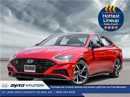 2021 Hyundai Sonata Sport (Stk: H6056) in Toronto - Image 1 of 23