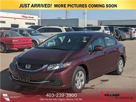 2015 Honda Civic LX (Stk: B7786) in Calgary - Image 1 of 3