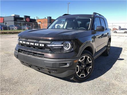 2021 Ford Bronco Sport Outer Banks (Stk: BS21815) in Barrie - Image 1 of 25