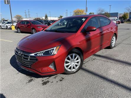 2020 Hyundai Elantra Preferred w/Sun & Safety Package (Stk: U9282) in Ottawa - Image 1 of 21
