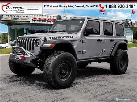 2018 Jeep Wrangler Unlimited Rubicon (Stk: N22001B) in Cornwall - Image 1 of 17