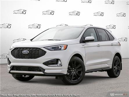 2021 Ford Edge ST Line (Stk: DD018) in Sault Ste. Marie - Image 1 of 23