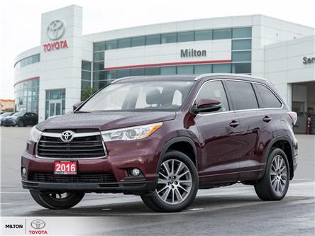 2016 Toyota Highlander XLE (Stk: 308397) in Milton - Image 1 of 25