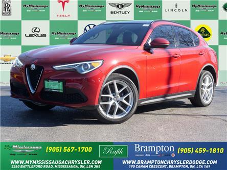 2018 Alfa Romeo Stelvio ti (Stk: 1843) in Mississauga - Image 1 of 26