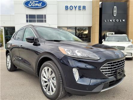 2021 Ford Escape Titanium Hybrid (Stk: ES3292) in Bobcaygeon - Image 1 of 29