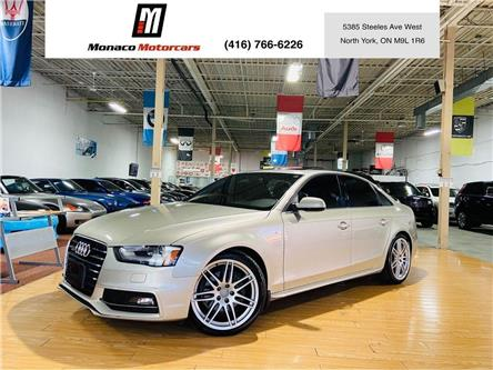 2013 Audi A4  (Stk: 4455-11) in North York - Image 1 of 9