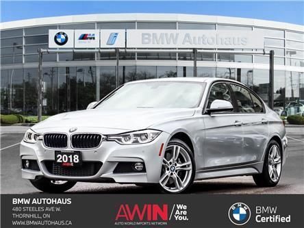 2018 BMW 330i xDrive (Stk: 21967A) in Thornhill - Image 1 of 39