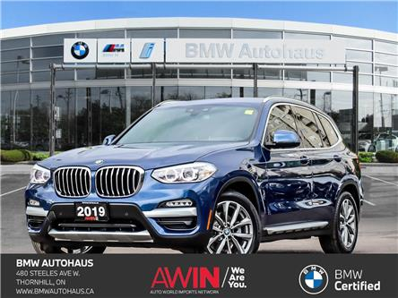 2019 BMW X3 xDrive30i (Stk: P10832) in Thornhill - Image 1 of 40