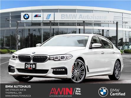 2018 BMW 530i xDrive (Stk: P10956) in Thornhill - Image 1 of 39
