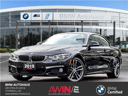 2019 BMW 440i xDrive (Stk: P10980) in Thornhill - Image 1 of 37