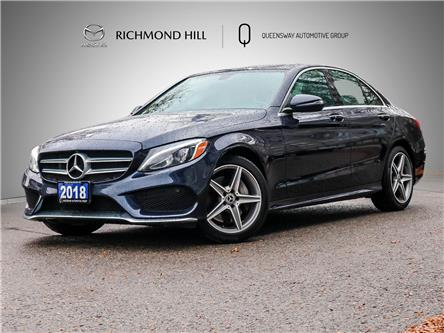 2018 Mercedes-Benz C-Class Base (Stk: P0718) in Richmond Hill - Image 1 of 25