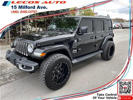 2021 Jeep Wrangler Unlimited Sahara (Stk: -) in Toronto - Image 1 of 11