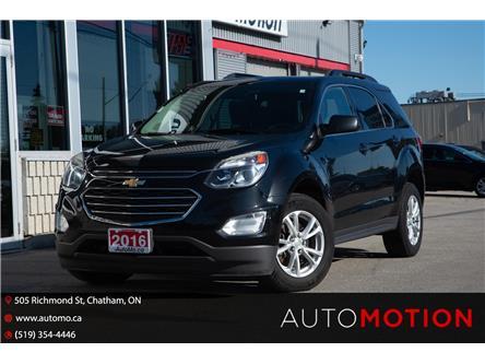 2016 Chevrolet Equinox LT (Stk: 212031) in Chatham - Image 1 of 23