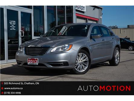 2013 Chrysler 200 Limited (Stk: 211809) in Chatham - Image 1 of 22