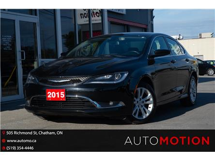 2015 Chrysler 200 Limited (Stk: 211997) in Chatham - Image 1 of 18