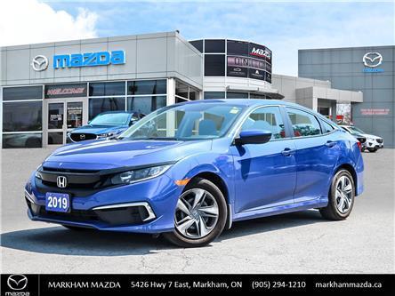 2019 Honda Civic LX (Stk: D5210141A) in Markham - Image 1 of 25