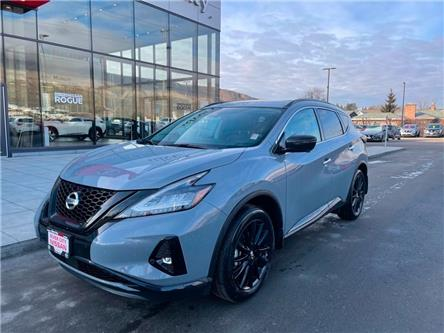 2021 Nissan Murano Midnight Edition (Stk: T21287) in Kamloops - Image 1 of 26
