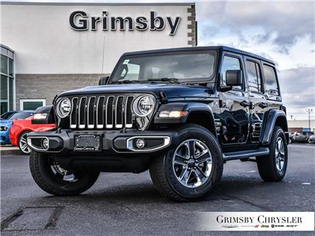 2021 Jeep Wrangler Unlimited Sahara (Stk: N21377) in Grimsby - Image 1 of 29