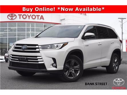 2018 Toyota Highlander Hybrid Limited (Stk: 19-29540A) in Ottawa - Image 1 of 25