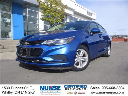 2018 Chevrolet Cruze LT Auto (Stk: 10X605) in Whitby - Image 1 of 25