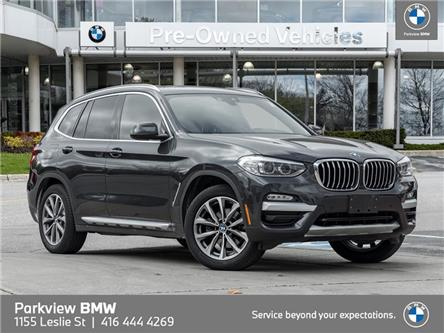 2019 BMW X3 xDrive30i (Stk: 56125A) in Toronto - Image 1 of 22
