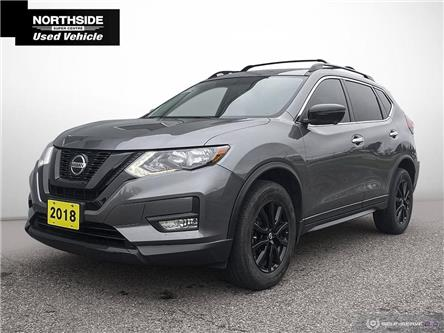 2018 Nissan Rogue Midnight Edition (Stk: P6695A) in Sault Ste. Marie - Image 1 of 27