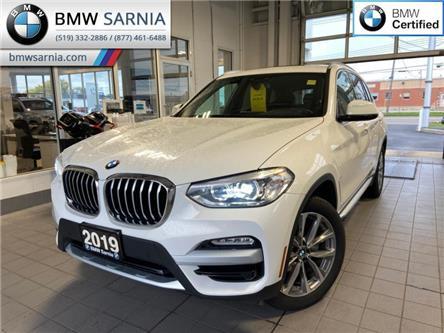 2019 BMW X3 xDrive30i (Stk: XU464) in Sarnia - Image 1 of 12