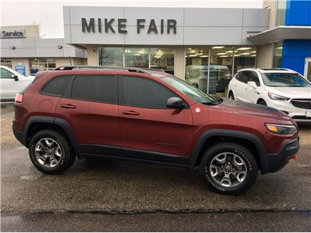 2019 Jeep Cherokee Trailhawk (Stk: B1010) in Smiths Falls - Image 1 of 15