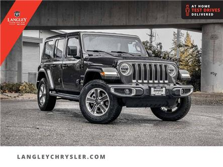 2018 Jeep Wrangler Unlimited Sahara (Stk: M778691A) in Surrey - Image 1 of 25