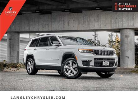 2021 Jeep Grand Cherokee L Limited (Stk: M192101) in Surrey - Image 1 of 27