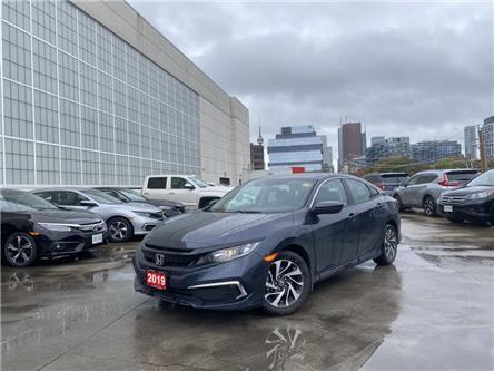 2019 Honda Civic EX (Stk: C22048A) in Toronto - Image 1 of 5