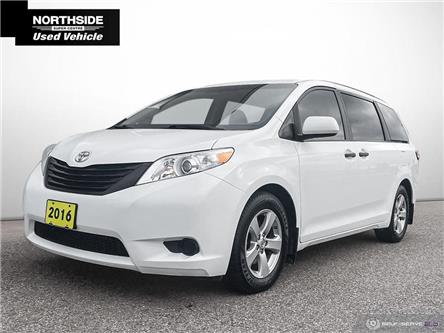 2016 Toyota Sienna 7 Passenger (Stk: P21103A) in Sault Ste. Marie - Image 1 of 26