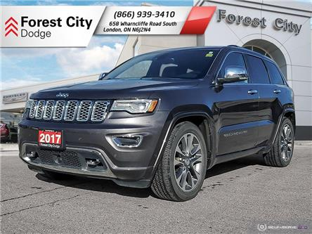 2017 Jeep Grand Cherokee Overland (Stk: 21-7037A) in London - Image 1 of 22