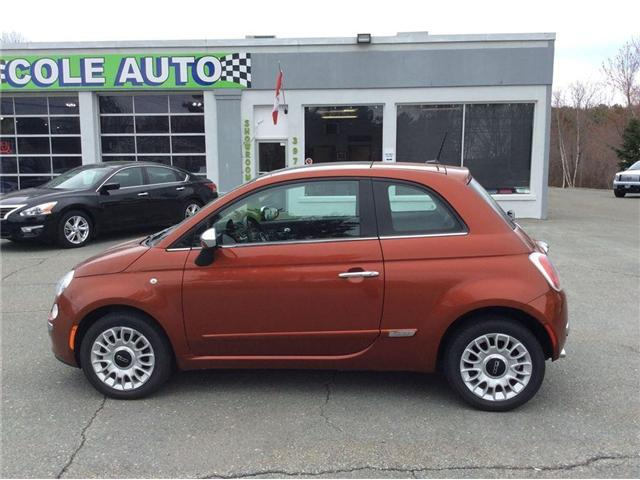 2013 Fiat 500 Lounge (Stk: A-787) in Liverpool - Image 1 of 14