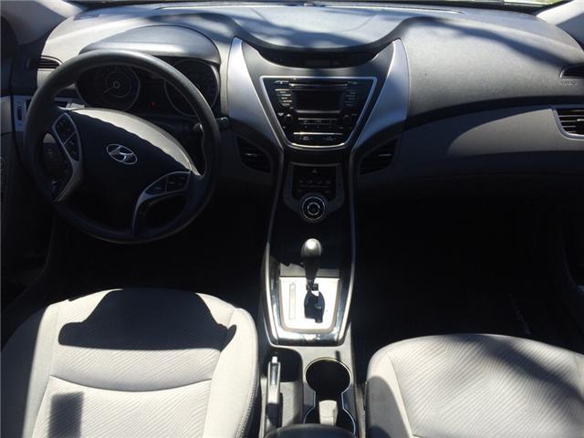 2013 Hyundai Elantra GL (Stk: -) in Middle Sackville - Image 6 of 6