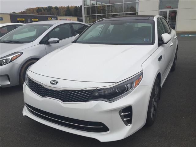 2016 Kia Optima SX Turbo (Stk: 16230) in New Minas - Image 1 of 6