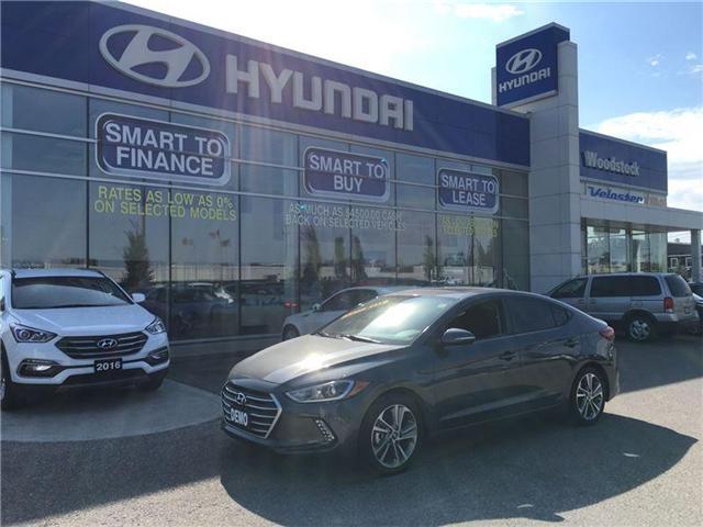 2017 Hyundai Elantra GLS (Stk: HD17017) in Woodstock - Image 1 of 15