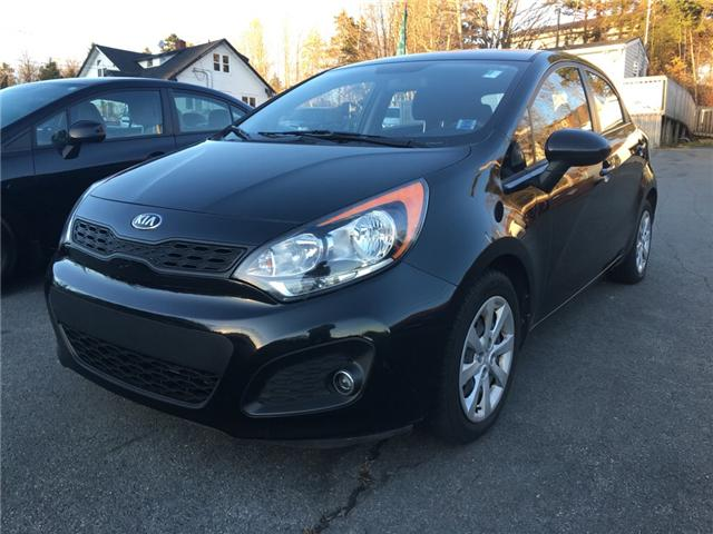 2013 Kia Rio LX+ (Stk: -) in Middle Sackville - Image 1 of 7