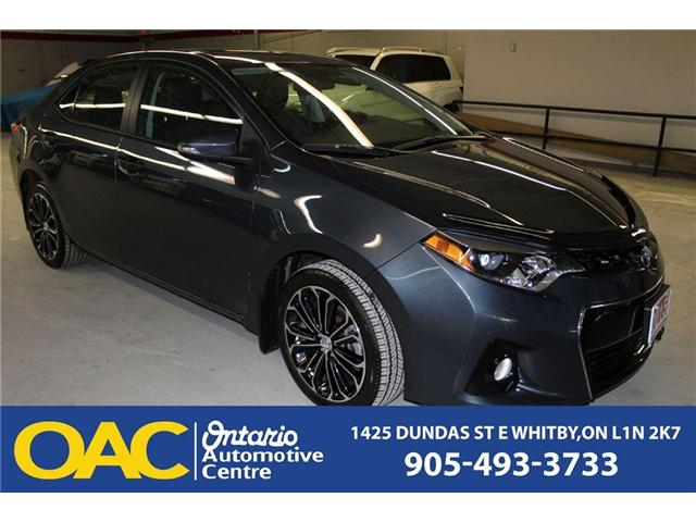 2015 Toyota Corolla  (Stk: 76365J) in WHITBY, - Image 1 of 14