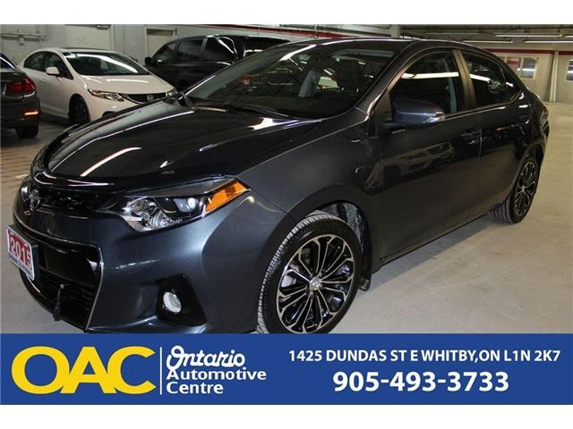 2015 Toyota Corolla  (Stk: 76365J) in WHITBY, - Image 2 of 14