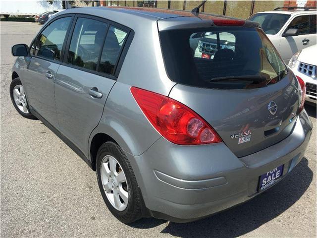 2010 Nissan Versa  (Stk: 3N1BC1) in Toronto - Image 5 of 13