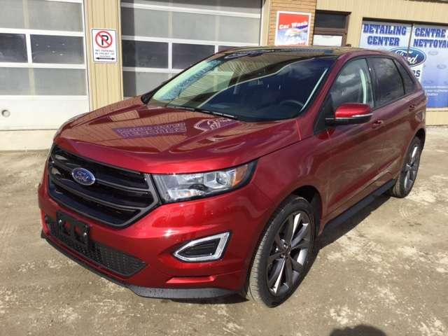 2017 Ford Edge Sport (Stk: 17-299) in Kapuskasing - Image 1 of 10